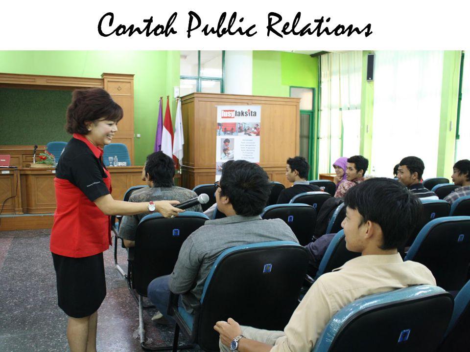 Contoh Public Relations