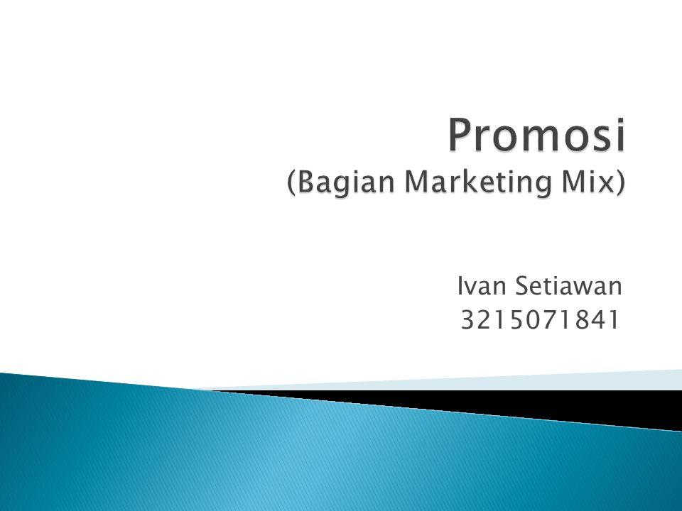 Pemasaran merupakan proses sosial dan manajerial sehingga konsumen dapat memperoleh kebutuhan/keinginan mereka melalui penciptaan, penawaran, dan penukaran nilai suatu produk antara penjual dan pembeli.