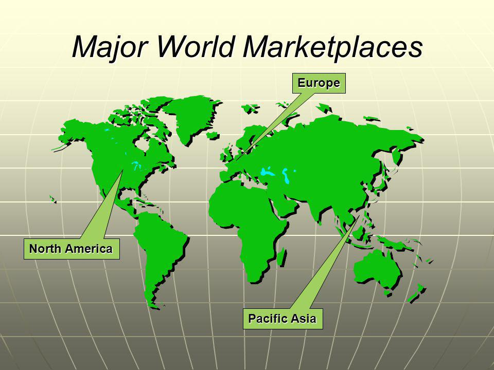 Major World Marketplaces North America Europe Pacific Asia