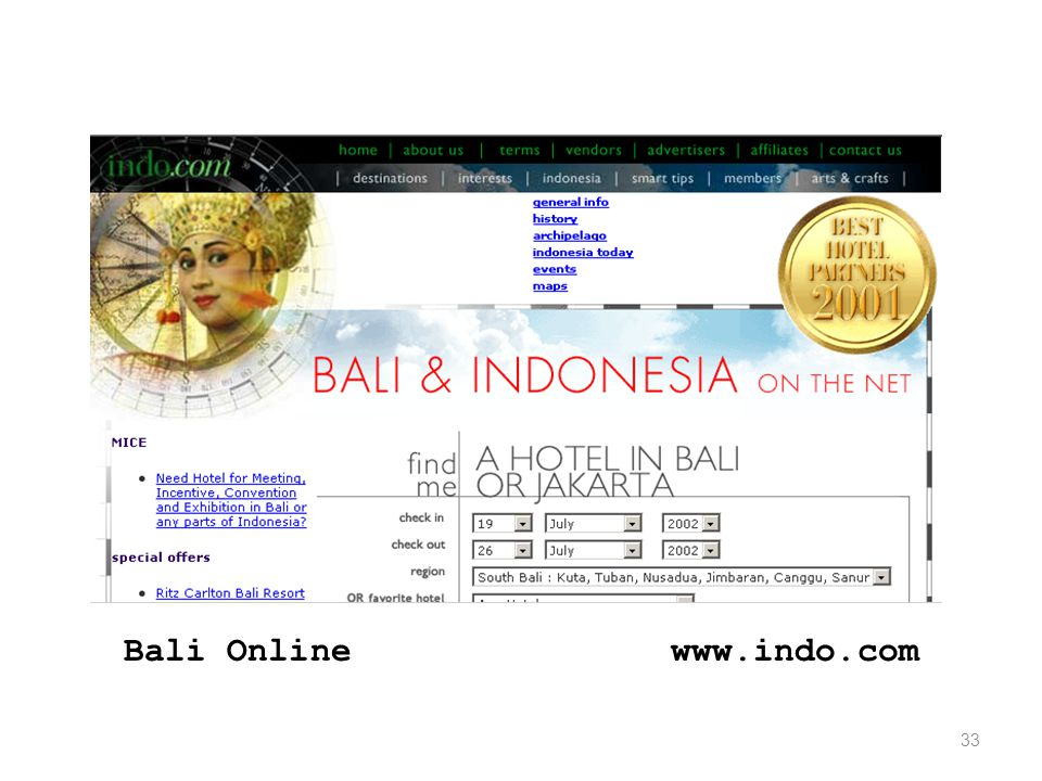 33 www.indo.comBali Online