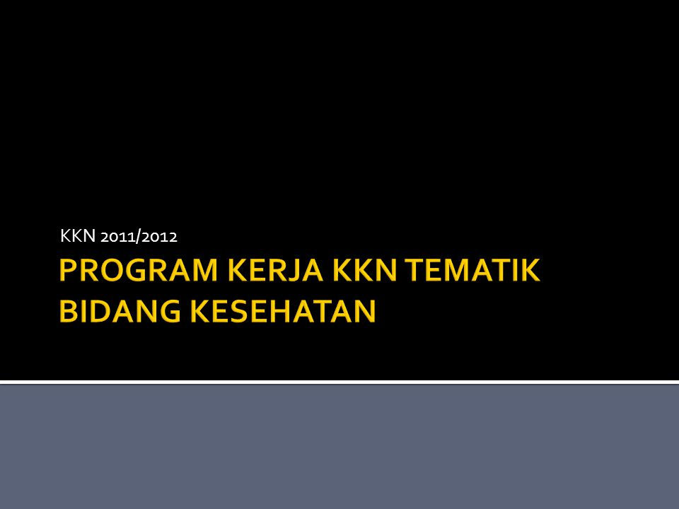 KKN 2011/2012