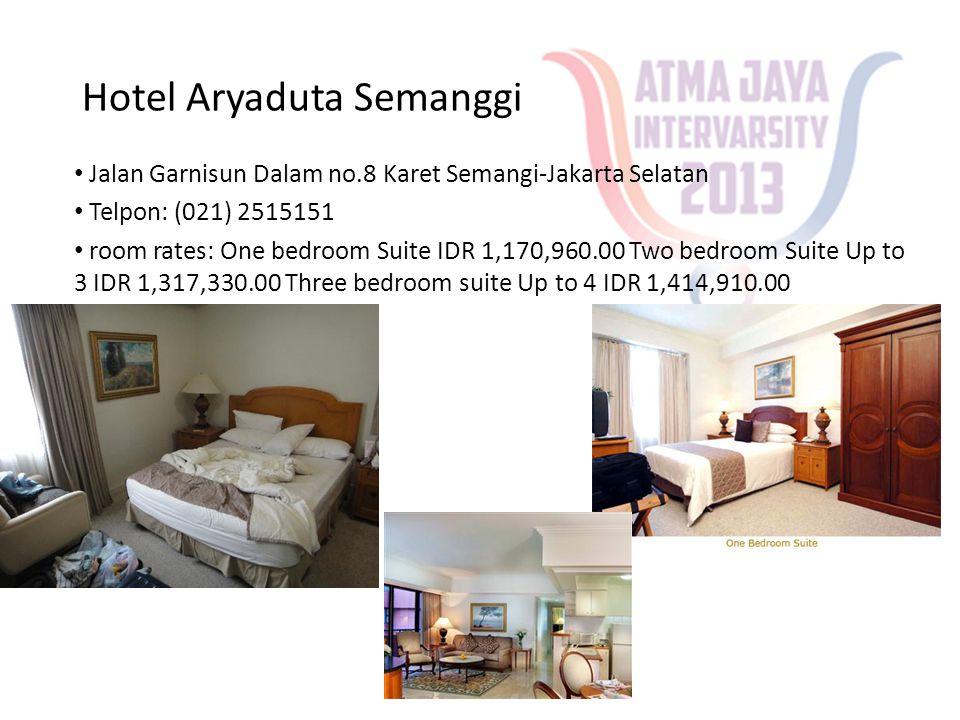 Kuningan Guest House • Jl.Perintis No. 16 Mega Kuningan • Telpon: (021) 5250948 • room rates: Rp.