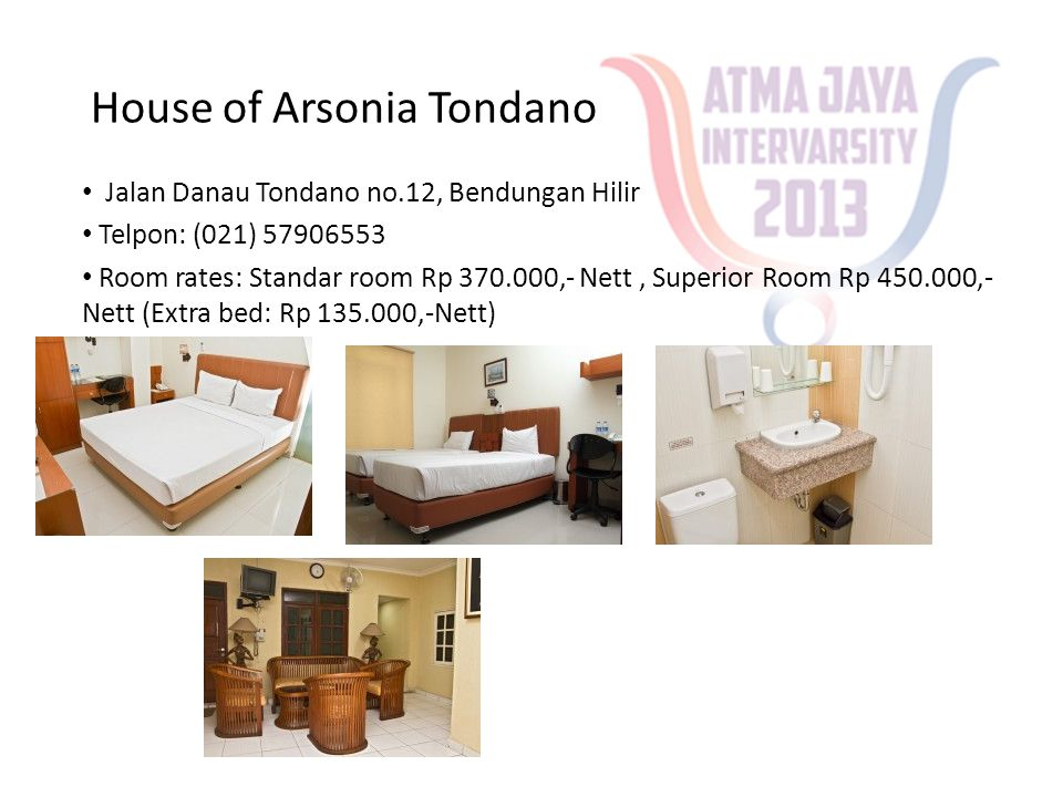 Studio One Hotel • Jl.Talang Betutu No.