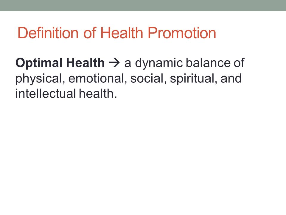 Definition of Health Promotion Changing of Lifestyle  be facilitated through a combination of learning experiences that enhance awareness, increase motivation, and build skills and, most important, through the creation of opportunities that open access to environments that make positive health practices the easiest choice.