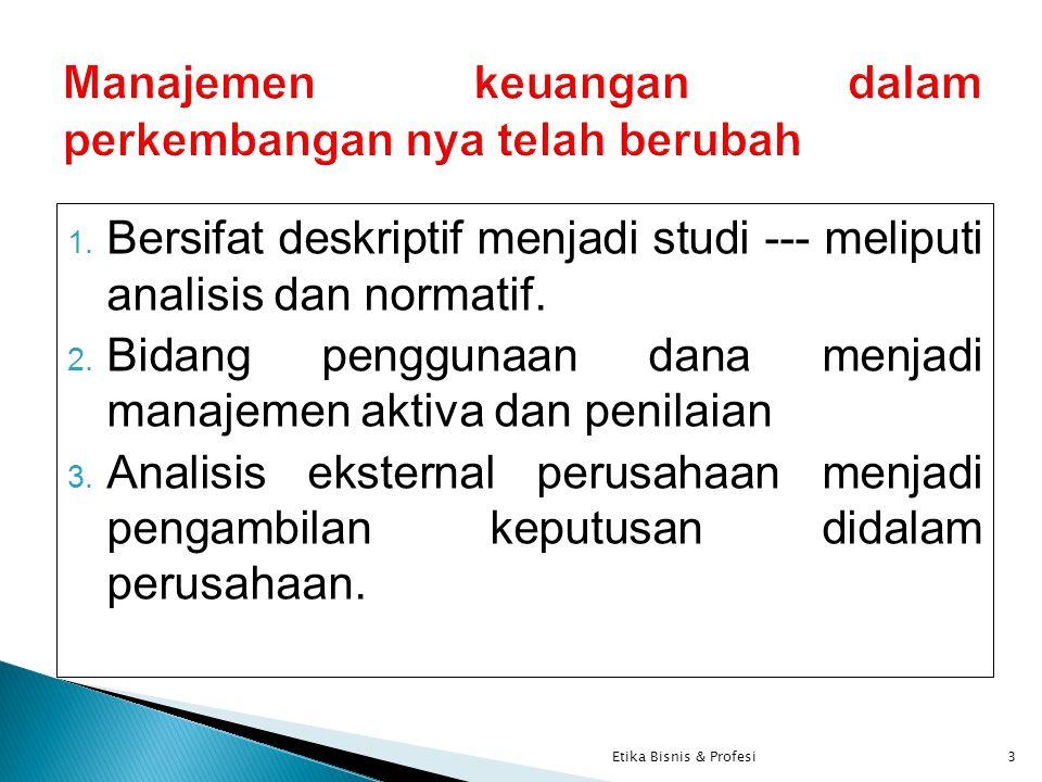 Masalah Manajemen Keuangan ??.