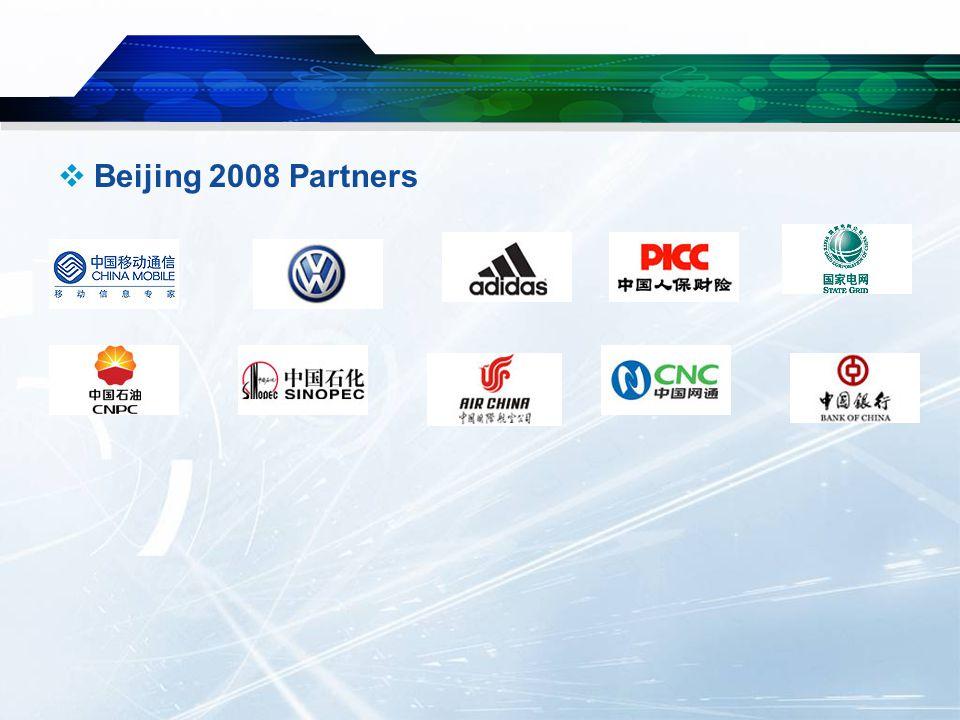  Beijing 2008 Partners