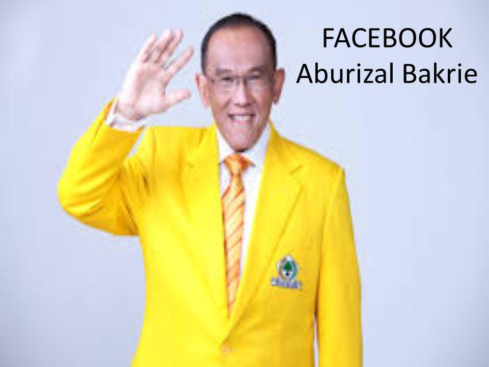 FACEBOOK Aburizal Bakrie
