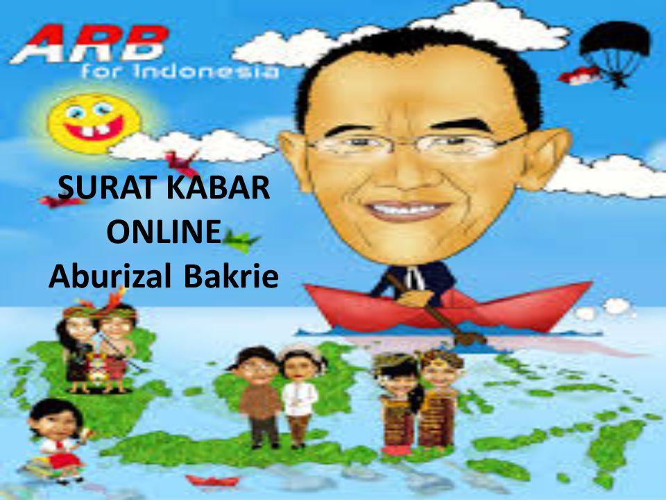 SURAT KABAR ONLINE Aburizal Bakrie