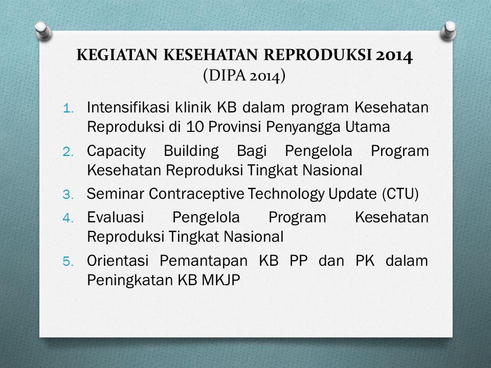 Kerja sama (MoU) antara BKKBN dan Yayasan Kanker Indonesia (YKI) No. 75/HK-101/E4/2010 dan No. 069/ SEK/YKI/II/2010