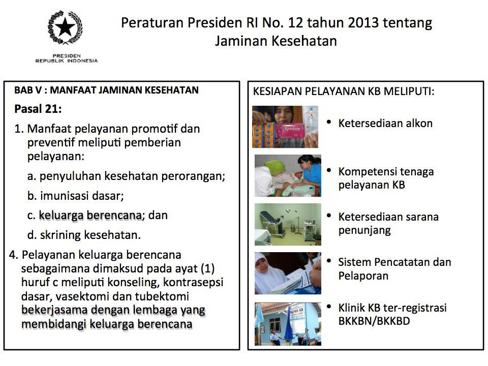KEGIATAN KESEHATAN REPRODUKSI 2014 (DIPA 2014) 1.