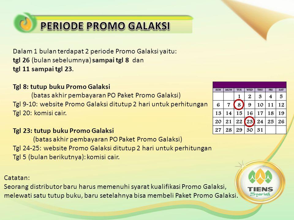 a.Buka website Promo Galaksi promogalaksi.id.tiens.com, masukkan ID dan buat password.