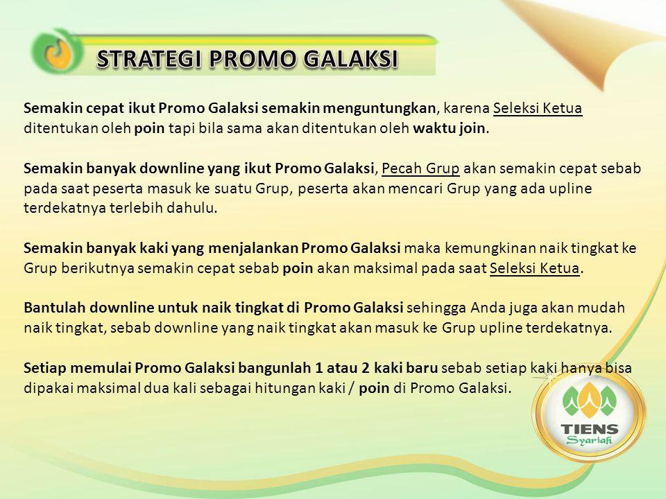 1.Promo Galaksi Indonesia akan dimulai bulan Juni / Juli 2014.