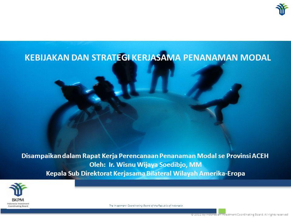 Outline A.Perjanjian Bilateral Penanaman Modal : Key Issues, Program/Kegiatan, Strategi B.Perjanjian Kerjasama BKPM dengan Dunia Usaha/Asosiasi Internasional C.Catatan Posisi Indonesia Dalam Perjanjian Bilateral dengan Negara Mitra 2
