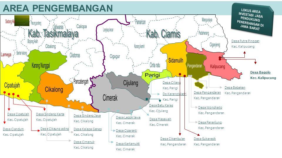 AREA PENGEMBANGAN Desa Bagolo Kec. Kalipucang