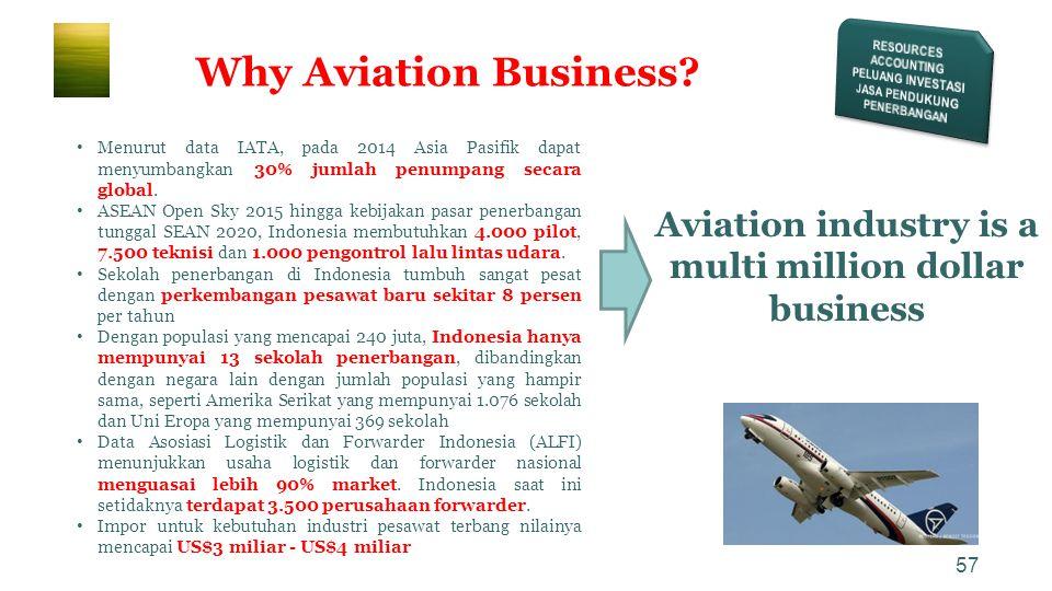57 • Menurut data IATA, pada 2014 Asia Pasifik dapat menyumbangkan 30% jumlah penumpang secara global. • ASEAN Open Sky 2015 hingga kebijakan pasar pe