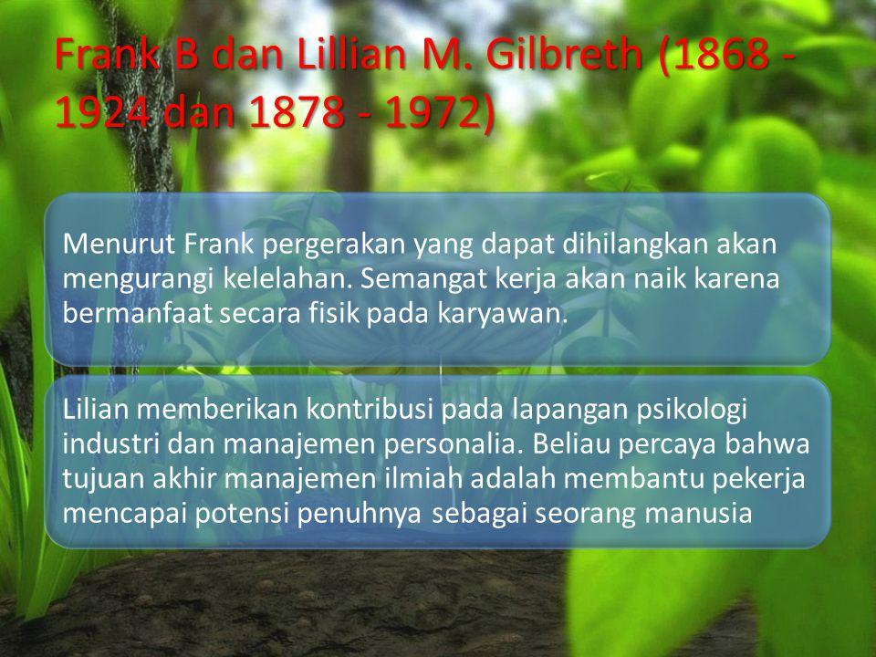 Frank B dan Lillian M.