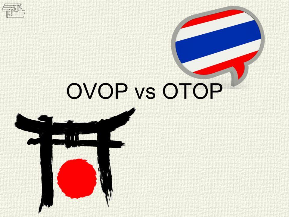 Wieke Irawati Kodri fe_bandung@yahoo.com OVOP vs OTOP