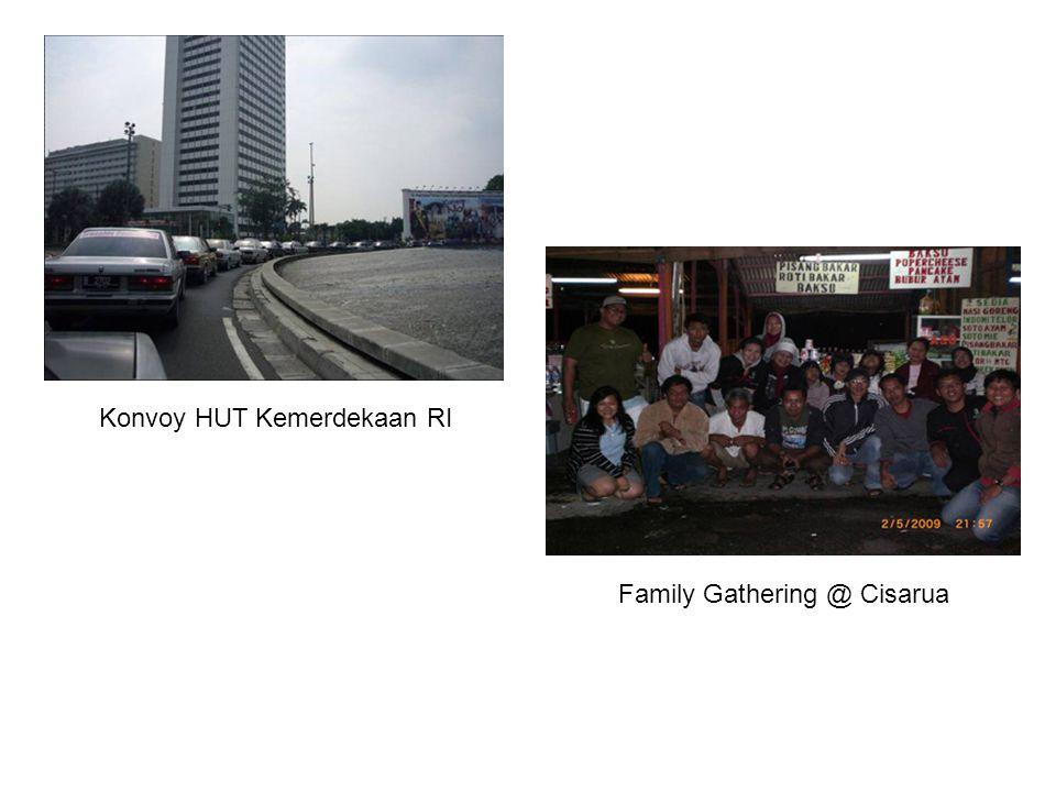 Konvoy HUT Kemerdekaan RI Family Gathering @ Cisarua
