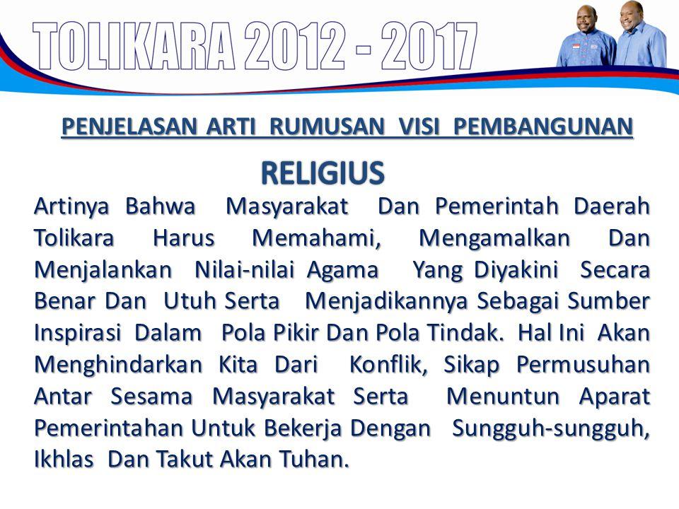 Artinya Bahwa Masyarakat Dan Pemerintah Daerah Tolikara Harus Memahami, Mengamalkan Dan Menjalankan Nilai-nilai Agama Yang Diyakini Secara Benar Dan U