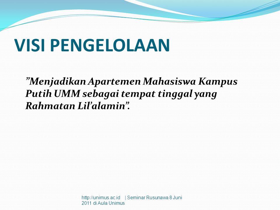 Sistem Pengelolaan Keuangan Asrama Mahasiswa SANG SURYA UMM Sistem Anggaran Asrama Mahasiswa SANG SURYA UMM dikelola secara terpusat oleh Universitas.