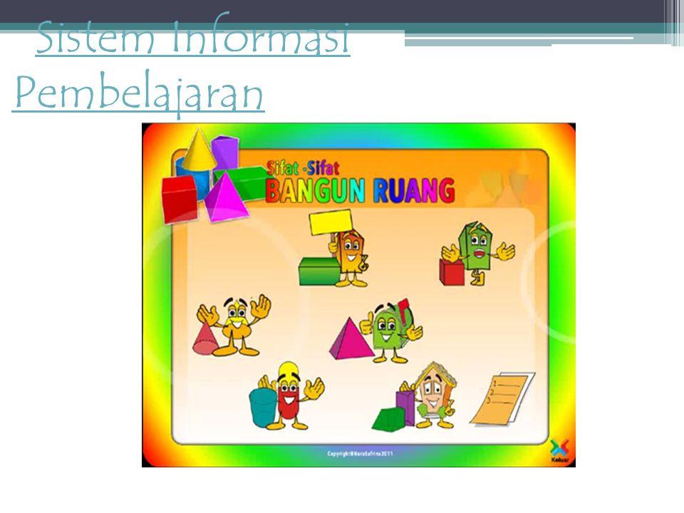 Sistem Informasi PembelajaranSistem Informasi Pembelajaran
