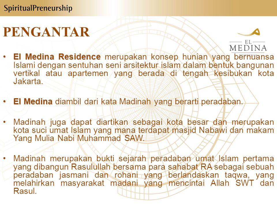 Profil Perusahaan Nama Proyek: El Medina Residence Lokasi: Jl.