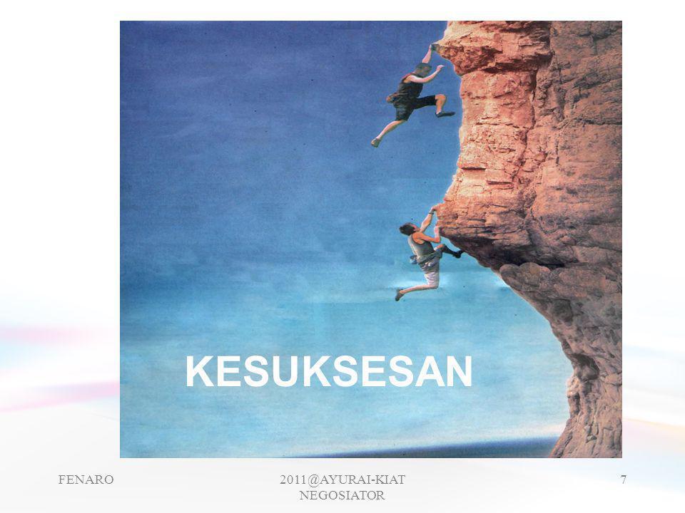 NEGOSIATOR BISNIS SEBAGAI PENJUAL -PUNYA PRODUK BARANG / JASA -PUNYA SARANA PROMOSI -(KATALOG / BROSUR, CD, SAMPLE PRODUK, DAFTAR HARGA, SPEC PRODUK) -NEGOSATION SKILL (MENGUASAI BAHASA ASING, BAHASA DAGANG) -CUKUP PENGALAMAN FENARO2011@AYURAI-KIAT NEGOSIATOR 8