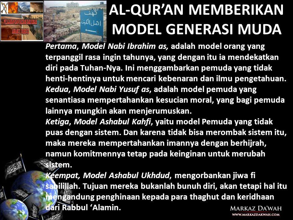 MEMBANGUN KEKUATAN UMAT 1.Mengembalikan Aqidah wala' wal bara' 2.Mengobarkan semangat Jihad fi Sabilillah sebagaimana telah ditegakkan oleh Rasulullah saw dan sahabatnya 3.Melakukan I'dad (persiapan secara menyeluruh) ditengah-tengah lemahnya kaum muslimin 4.Membangun persatuan dan kesatuan shoff di tengah perselisihan umat 5.Mempersiapkan generasi 554