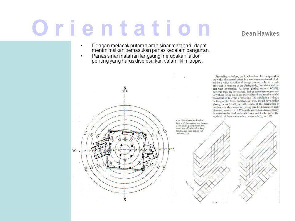 Interstitial Space Kenneth Yeang V e r a n d a h •Verandah merupakan adopsi dari konsep arsitektur tradisional yang merupakan ruang transisi dengan kegunaan proteksi terhadap sinar matahari langsung dan sirkulasi.