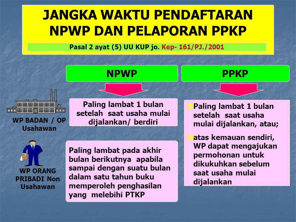 Dimanakah mendaftar NPWP/PKP  Kantor Pelayanan Pajak (KPP)  Kantor Penyuluhan dan Pengamatan Potensi Perpajakan (KP4)  Internet (e-registration)/www.pajak.go.id