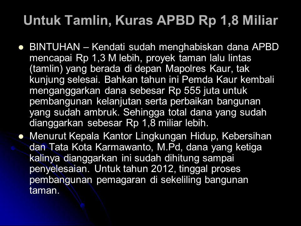 Tanpa APBD, Pasar Loak Taman Puring Diresmikan.  