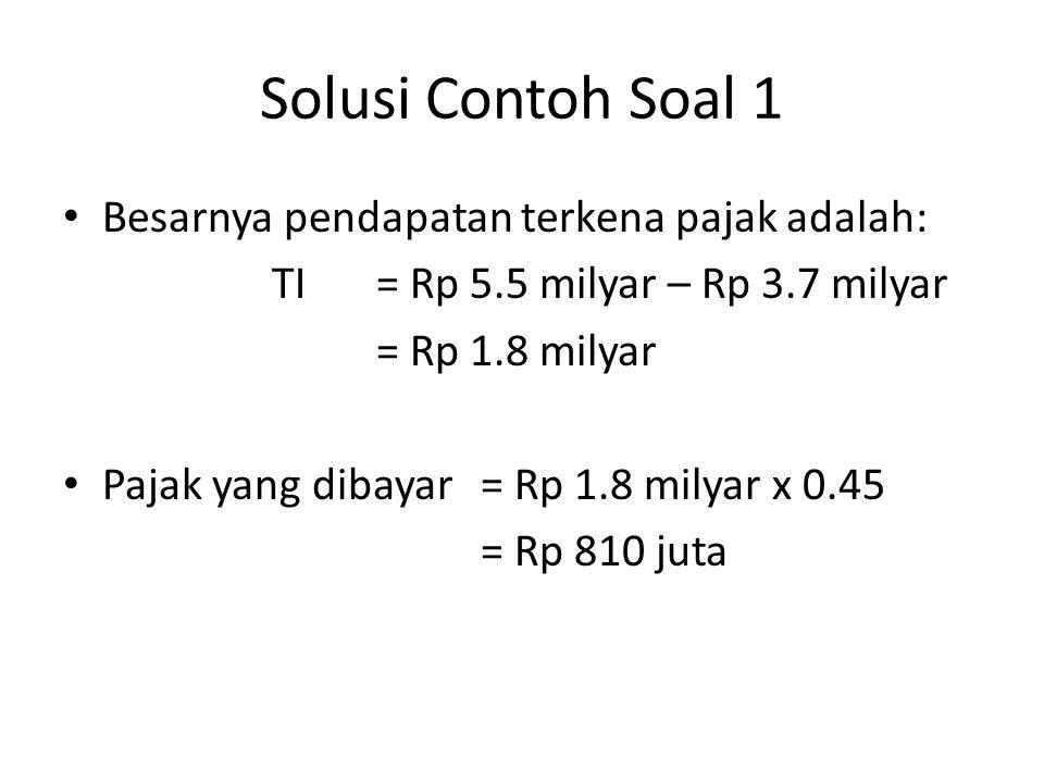 Contoh Soal 4 Sebuah traktor memiliki harga Rp 60 juta dengan umur 7 tahun dan nilai sisa Rp 4 juta.