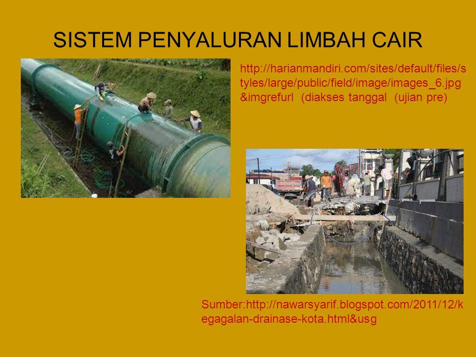Keadaan di Indonesia •Di Indonesia hanya sebagian penduduk dilayani oleh sistem pengumpul air limbah.