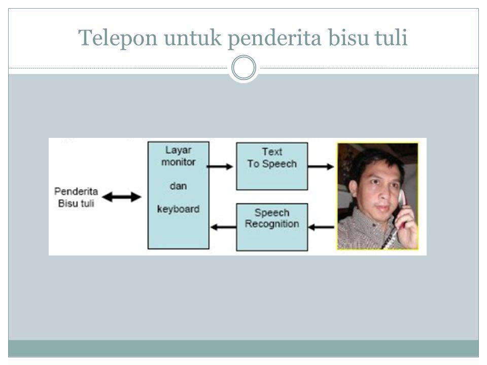 Telepon untuk penderita bisu tuli