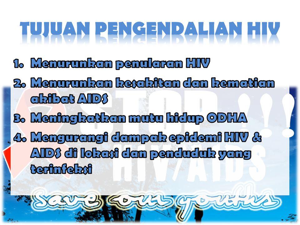 • Dinas Kesehatan berkewajiban menyediakan unit pelayanan kesehatan komprehensif yang mampu memberikan konseling dan tes HIV bagi masyarakat.