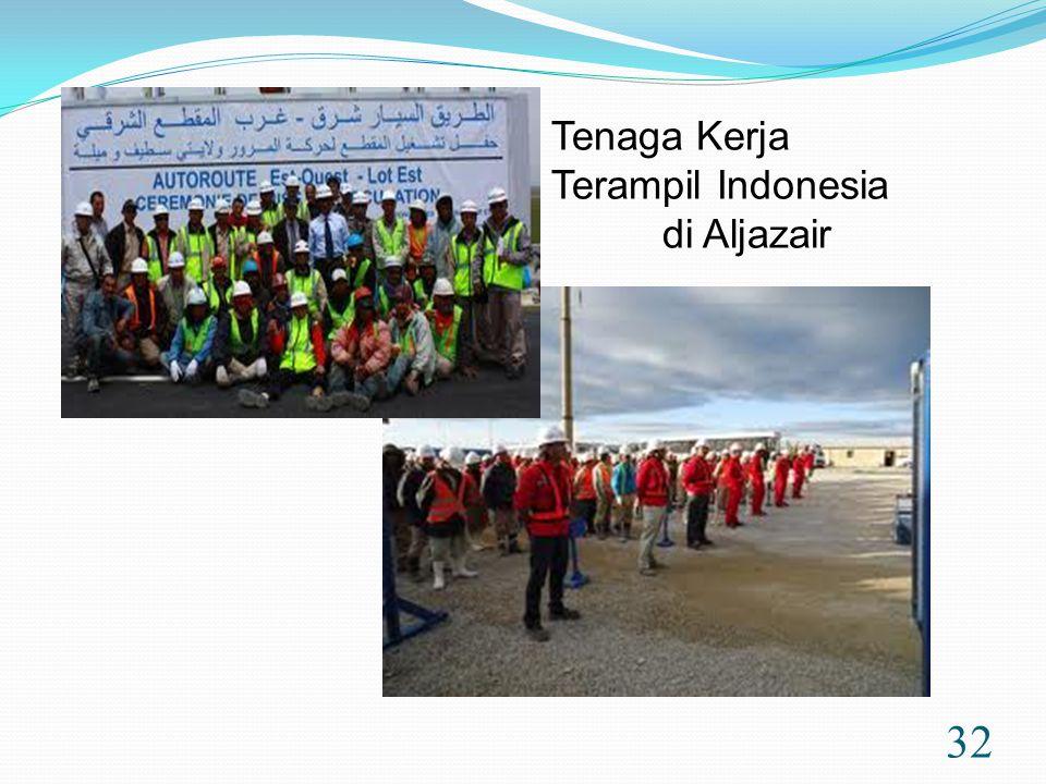 32 Tenaga Kerja Terampil Indonesia di Aljazair