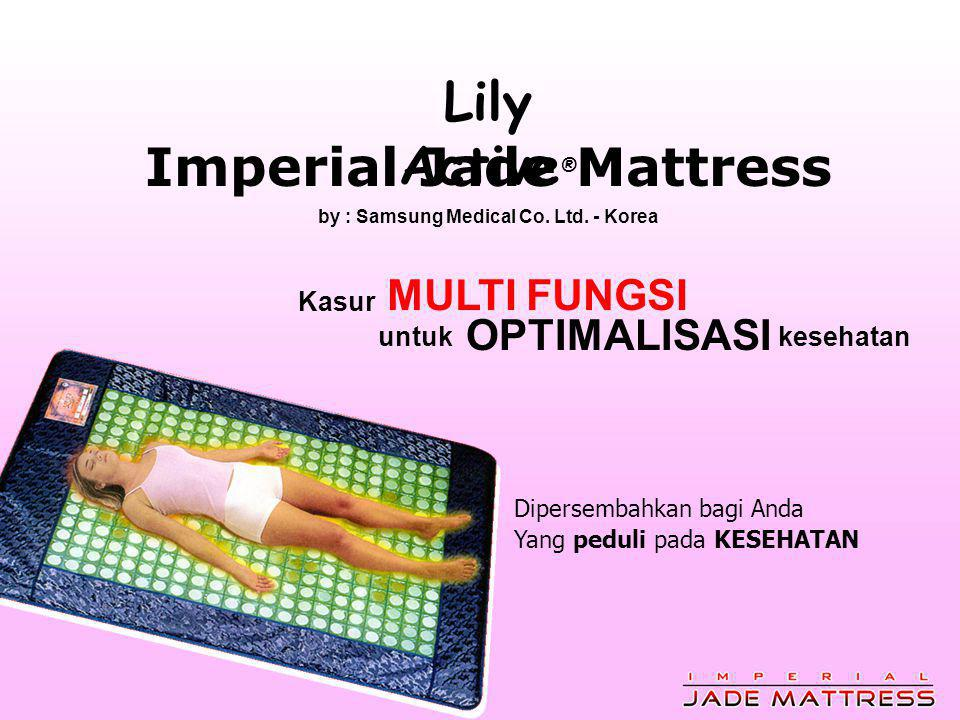 Lily Active ® Imperial Jade Mattress by : Samsung Medical Co.