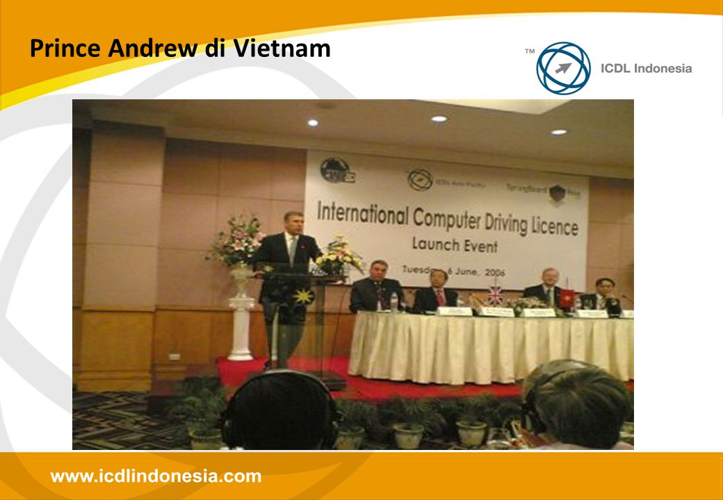 Prince Andrew di Vietnam