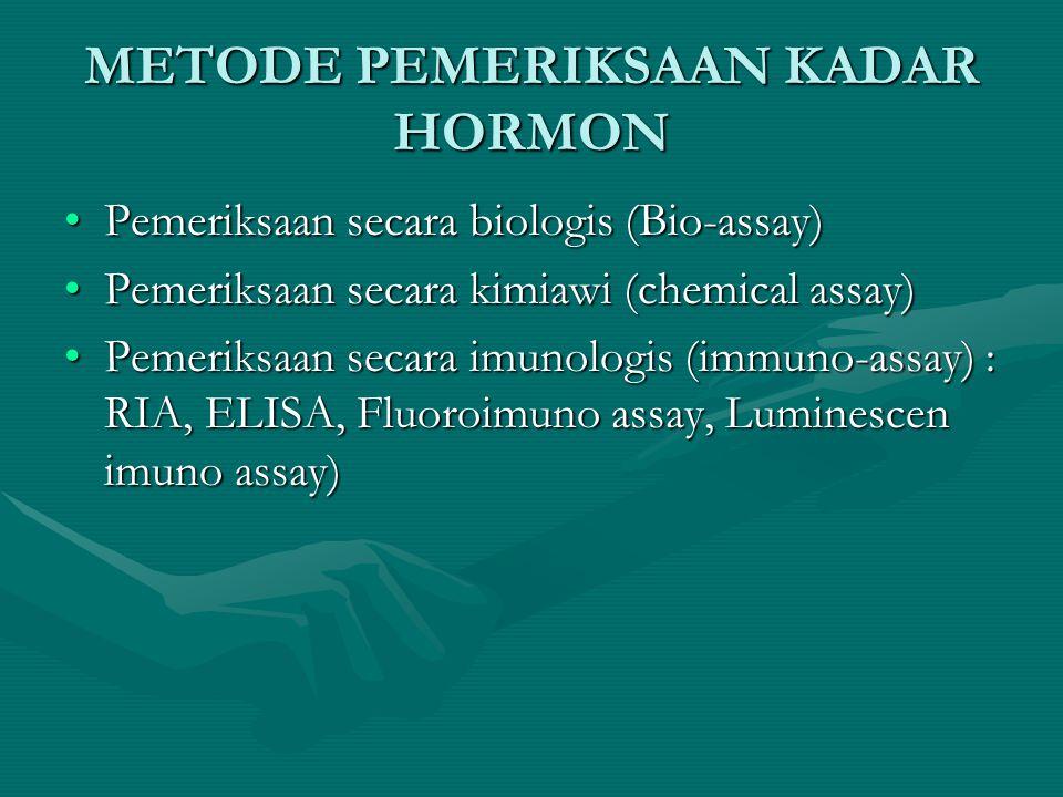 Sifat-sifat hormon steroid •Berasal dari reaksi enzimatik (cholesterol) •T ½ panjang (jam) •Beredar terikat protein •Di perifer berubah •Reseptor di d
