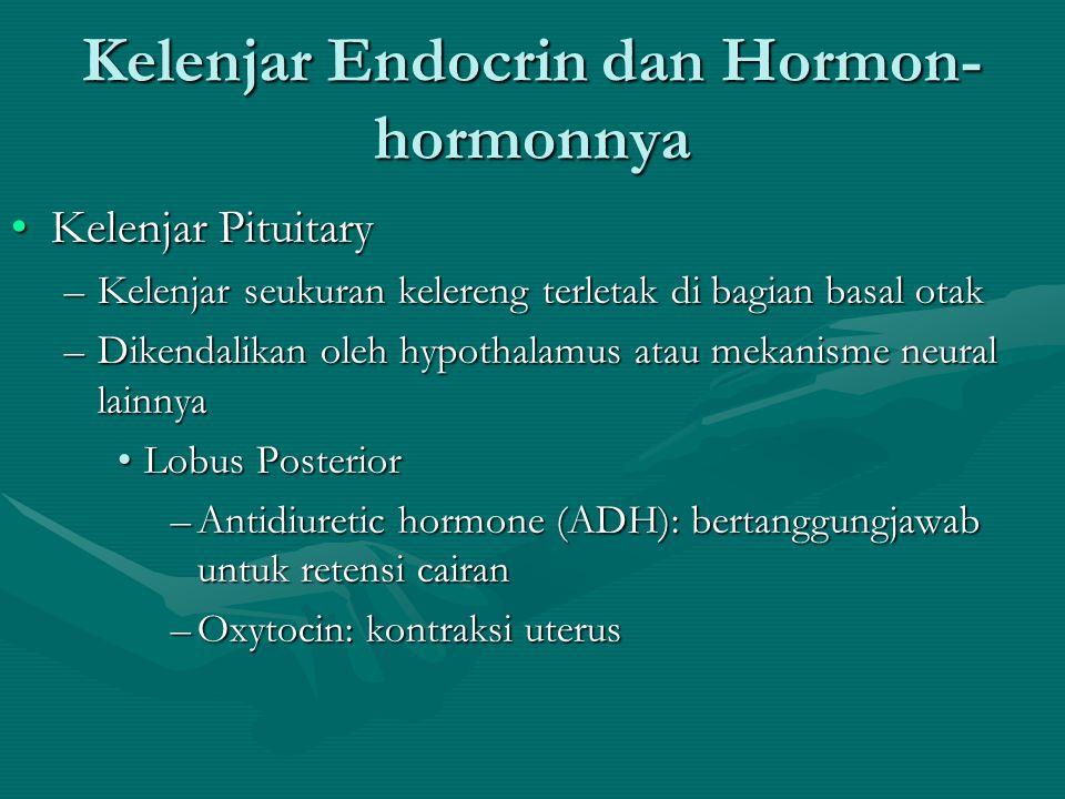 METODE PEMERIKSAAN KADAR HORMON •Pemeriksaan secara biologis (Bio-assay) •Pemeriksaan secara kimiawi (chemical assay) •Pemeriksaan secara imunologis (