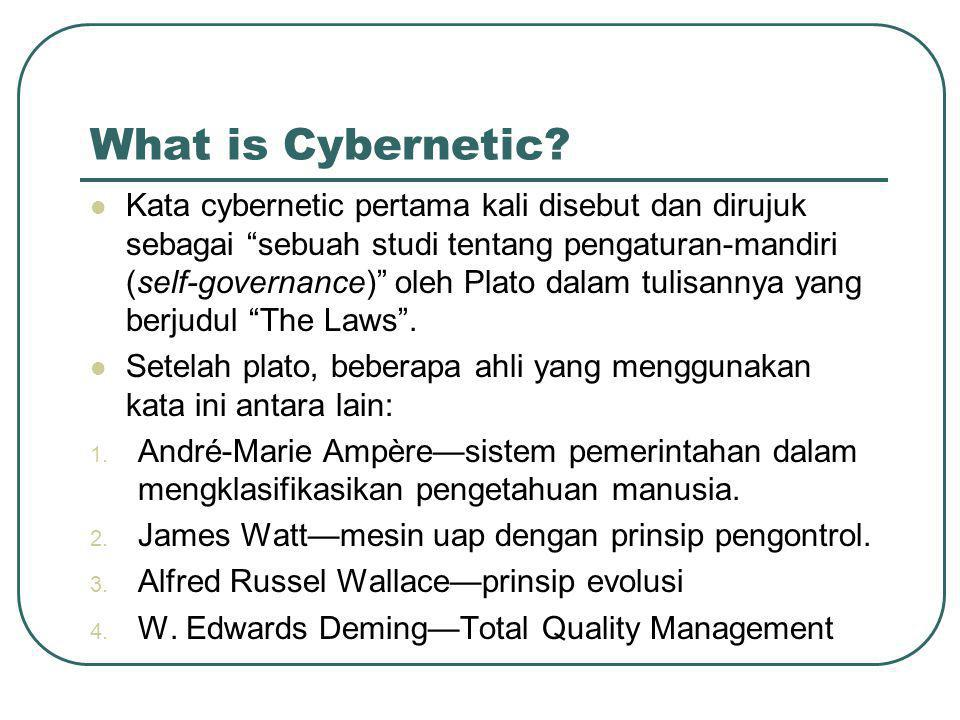 What is cybernetic.