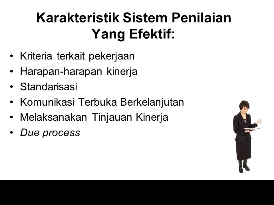 1)Pelajari & Pahamilah potensi permasalahannya 2)Gunakanlah alat peringkat yang tepat 3)Latihlah penyelia untuk mengurangi kesalahan peringkat 4)Penyimpanan agenda
