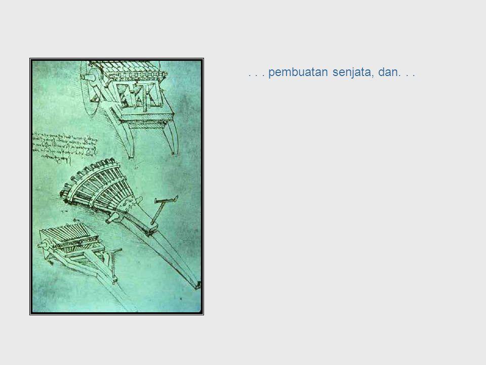 ... arsitek... Da Vinci, cont. – Architecture