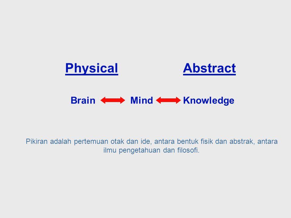 Biasanya pengetahuan dianggap tidak kelihatan dan abstrak, McCulloch menyadari bahwa pengetahuan dibentuk oleh organ fisik dari tubuh yaitu otak.