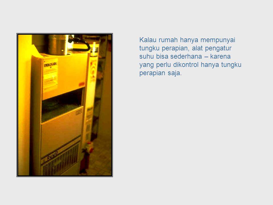Mari kita lihat contoh kita mengenai alat pengatur suhu. Thermostat Example, Revisited