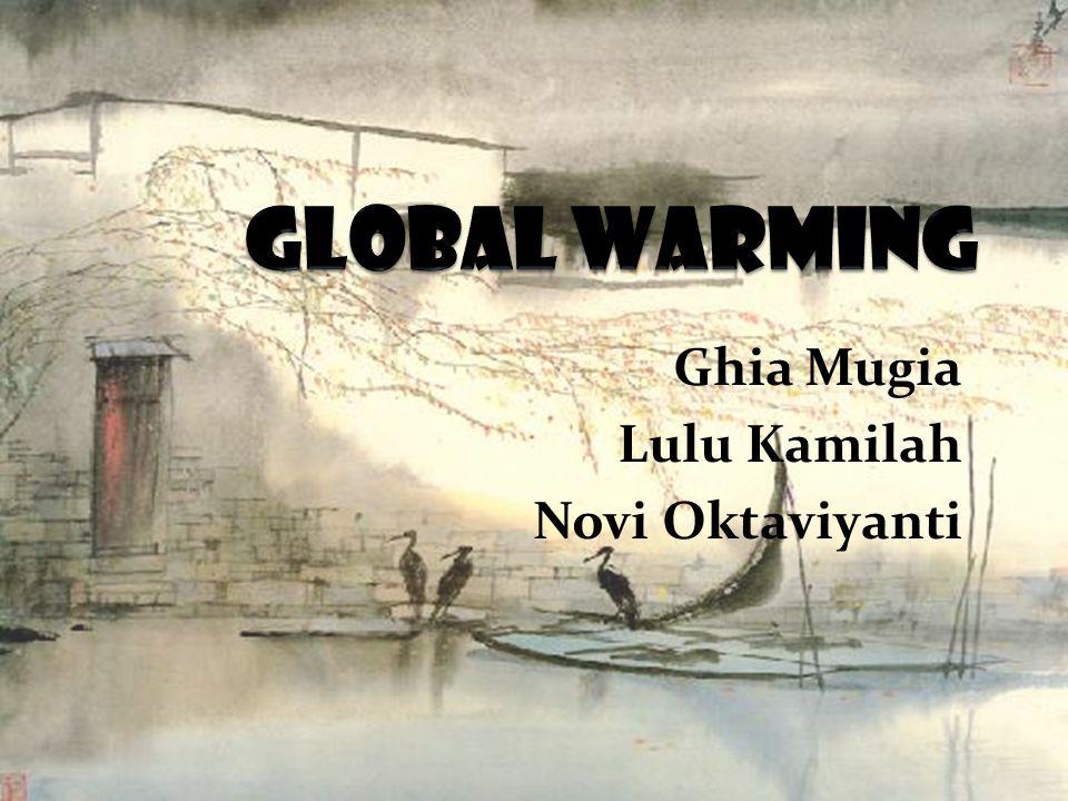 UPAYA PENCEGAHAN PEMANASAN GLOBAL • Undang-Undang No.