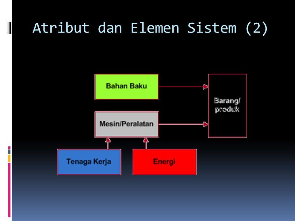 Atribut dan Elemen Sistem (2)