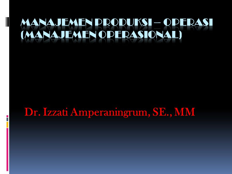 Dr. Izzati Amperaningrum, SE., MM