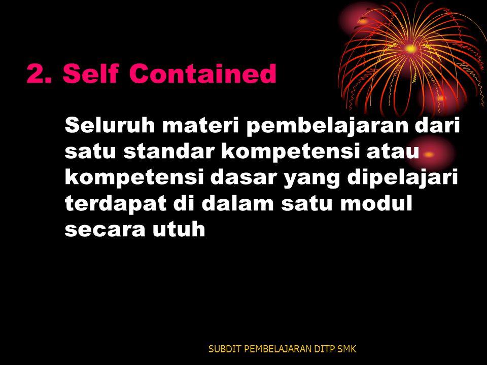 SUBDIT PEMBELAJARAN DITP SMK 2.