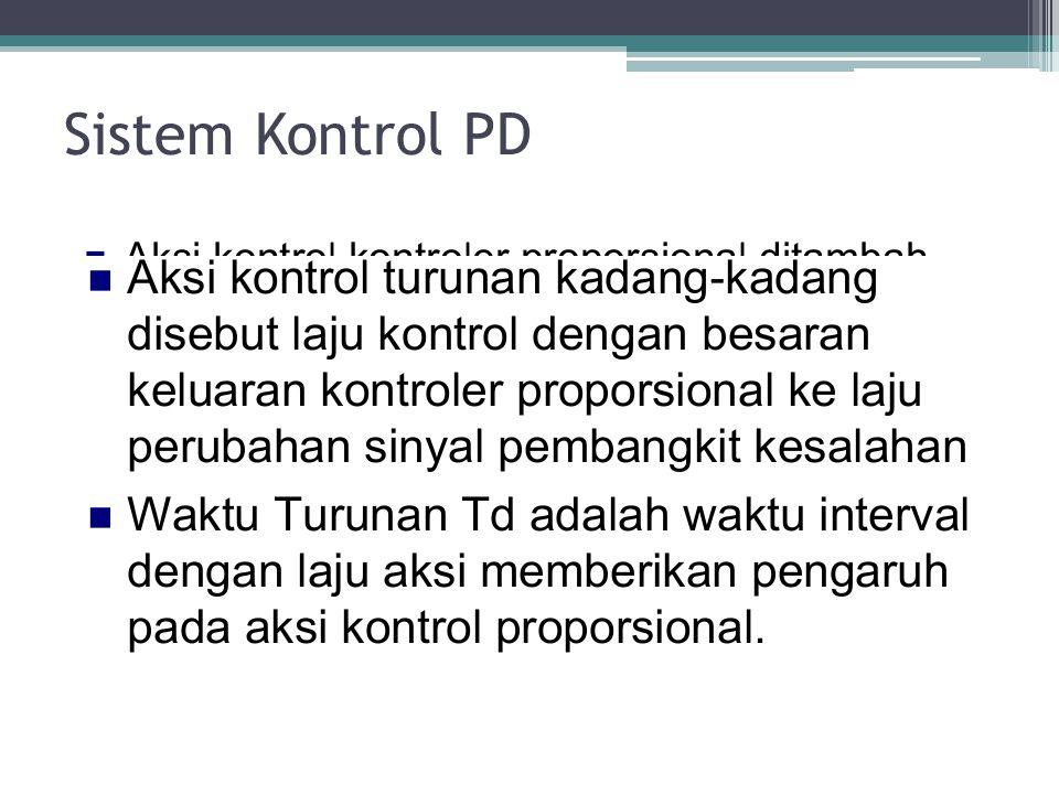 Sistem Kontrol PD